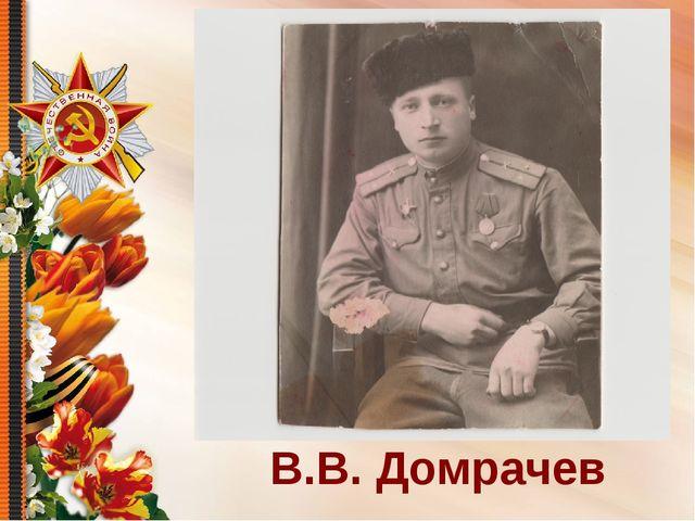 В.В. Домрачев