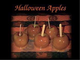 Halloween Apples