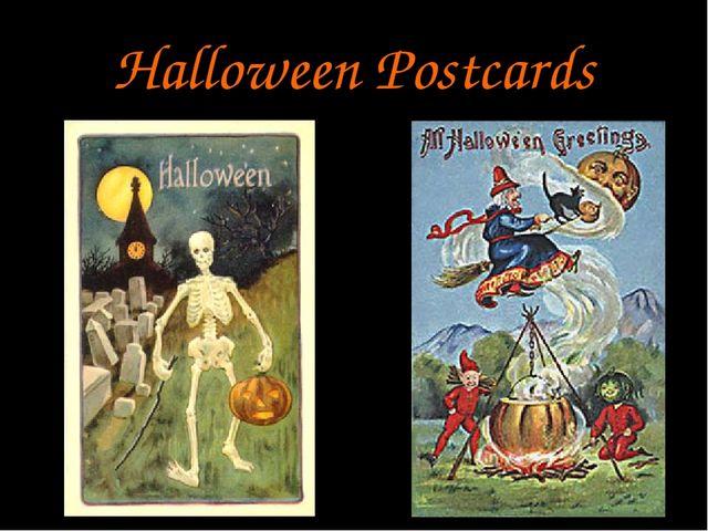 Halloween Postcards