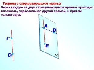 Через каждую из двух скрещивающихся прямых проходит плоскость, параллельная д