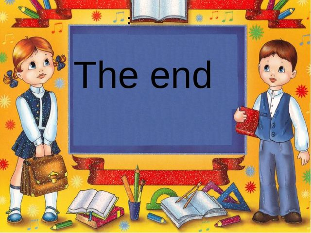 : The end