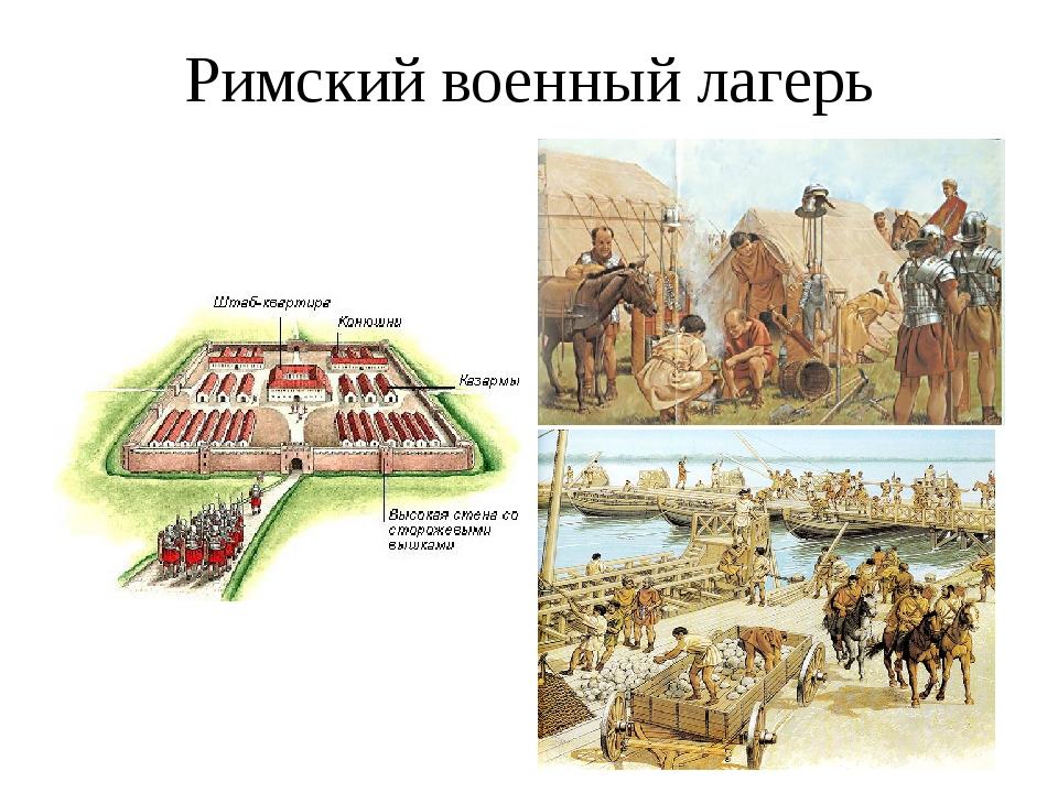 Римский военный лагерь