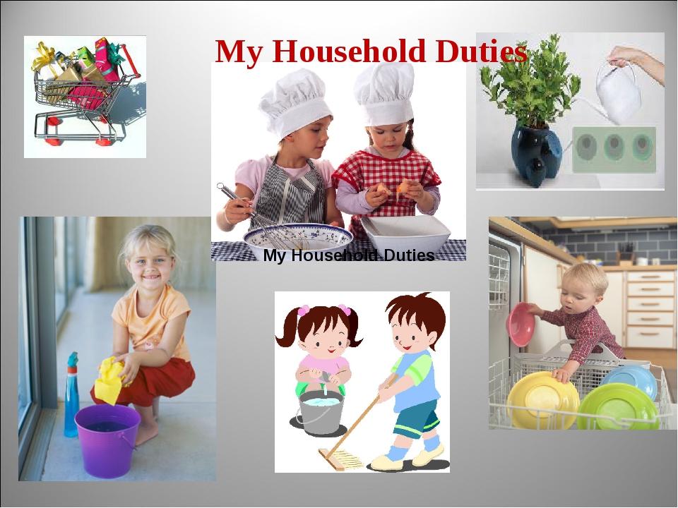 equalizing domestic duties