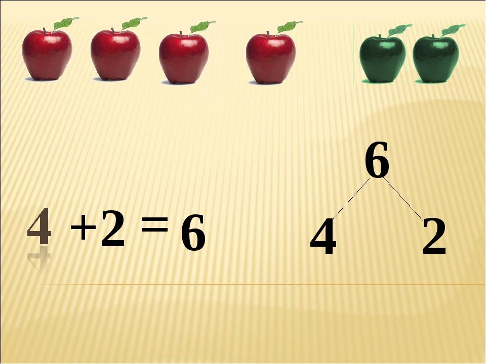 + 6 6 = 2 4 2