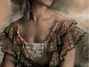 З.Серебрякова. Портрет балерины В.К. Ивановой
