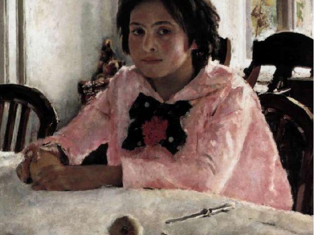 В. Серов. Девочка с персиками. Портрет В.С. Мамонтовой