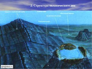 2. Структура океанического дна