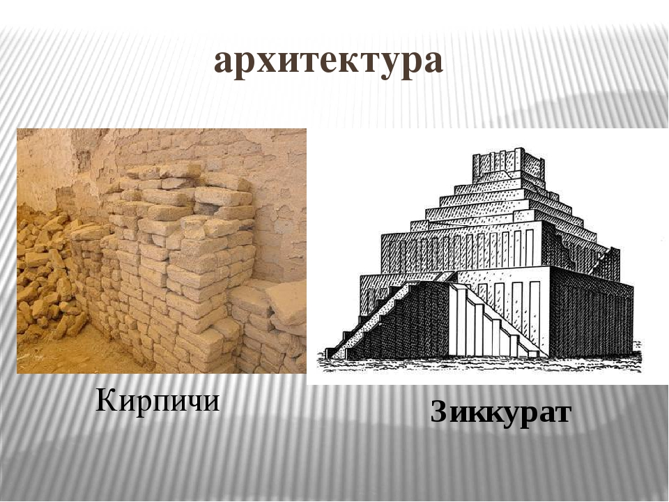архитектура Кирпичи Зиккурат