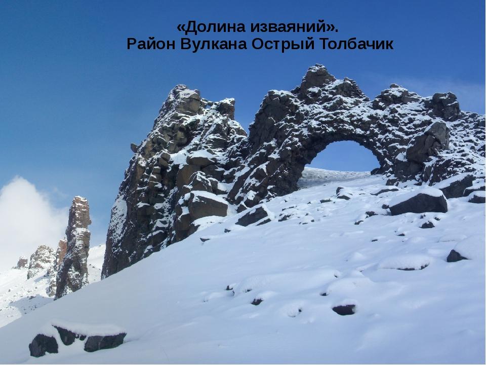 «Долина изваяний». Район Вулкана Острый Толбачик