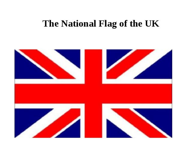 The National Flag of the UK