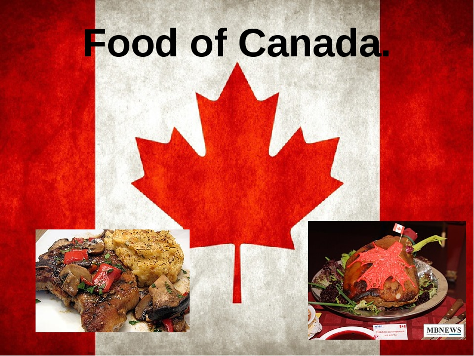 Food of Canada.