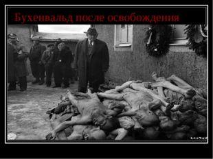 Бухенвальд после освобождения