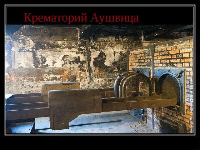 Крематорий Аушвица
