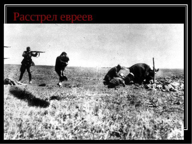 Расстрел евреев