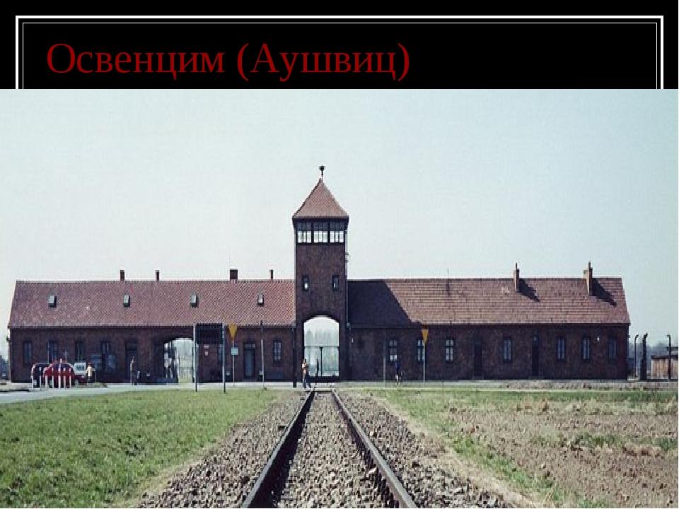 Освенцим (Аушвиц)