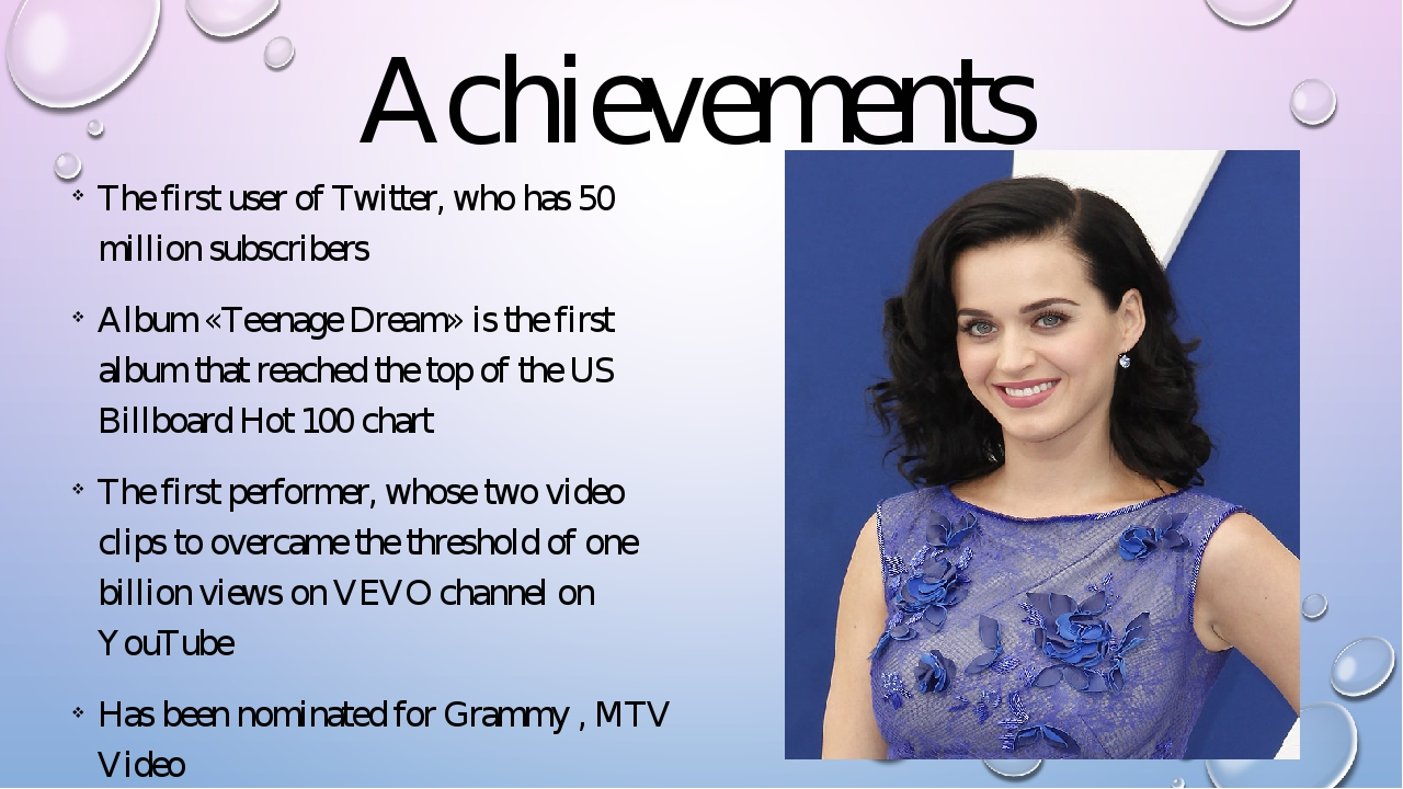 Achievements The first user of Twitter, who has 50 million subscribers Album...