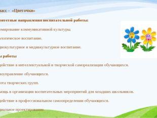 Приоритетные направления воспитательной работы: Формирование коммуникативной