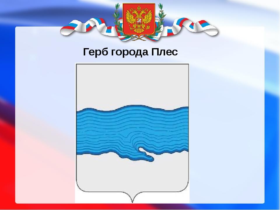 Герб города Плес