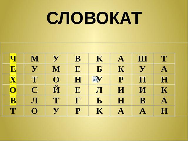 СЛОВОКАТ