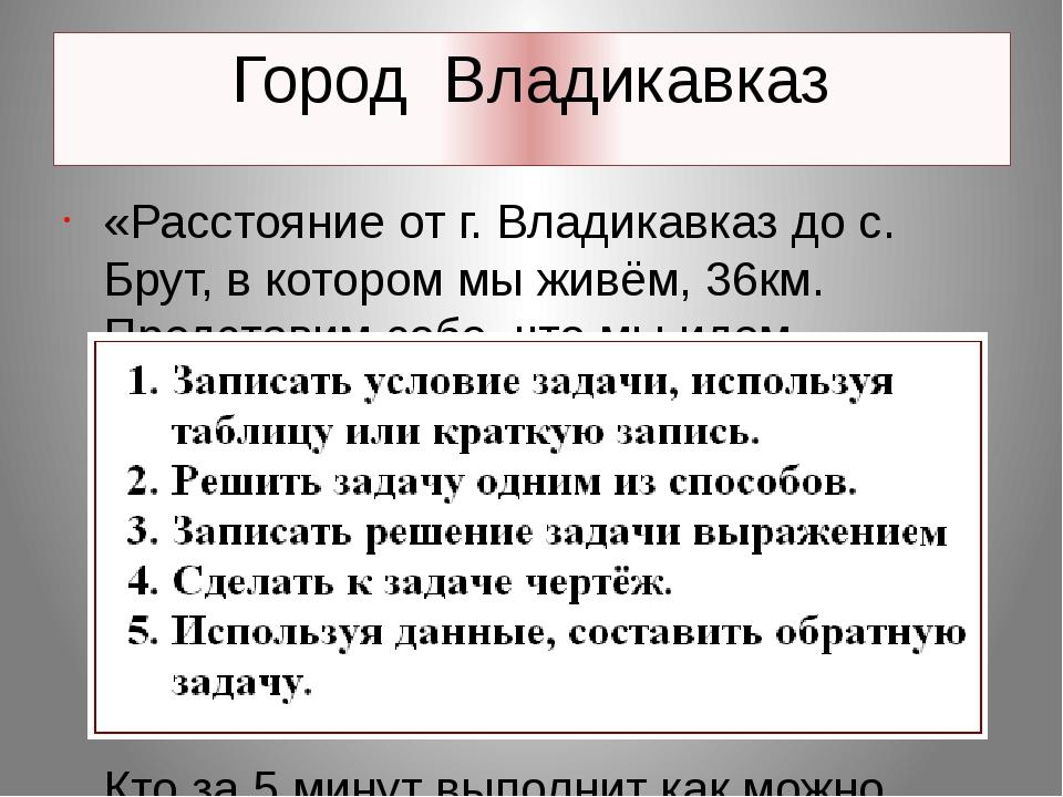 Герб г. Владикавказ.