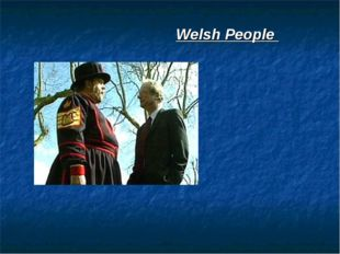 Welsh People