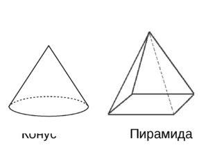 Конус Пирамида