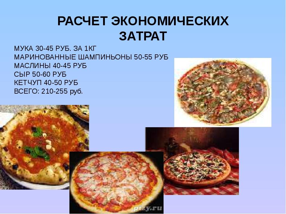Реферат по приготовлению пиццы 7548