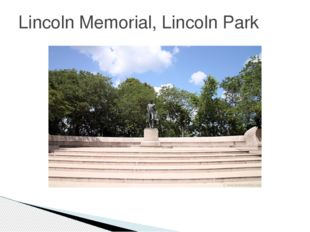 Lincoln Memorial, Lincoln Park