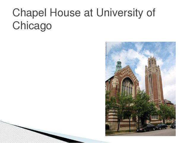 Chapel House at University of Chicago