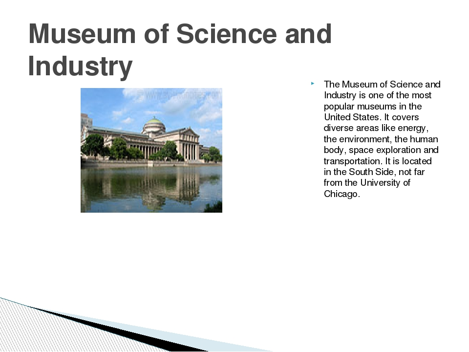 The Museum of Science and Industry is one of the most popular museums in the...