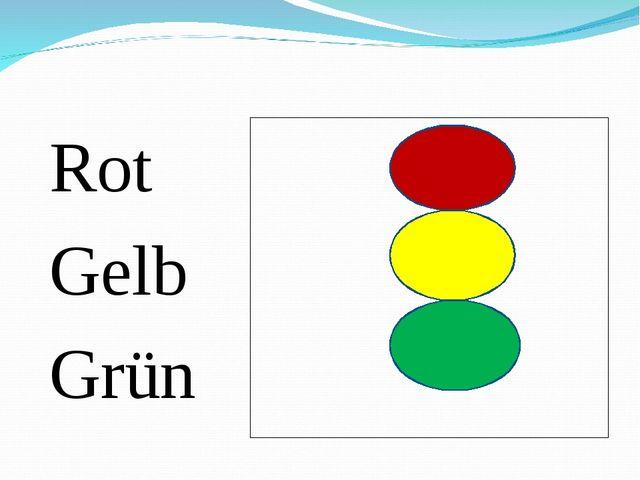 Rot Gelb Grün