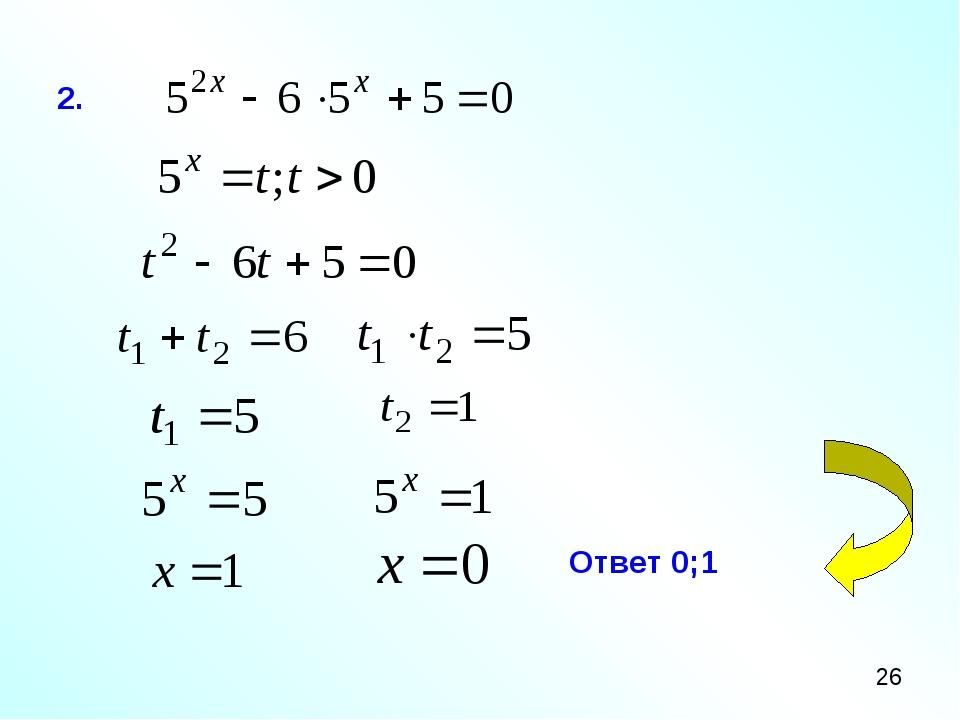 2. Ответ 0;1