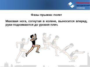 I Межрегиональный методический семинар Маховая нога, согнутая в колене, выно