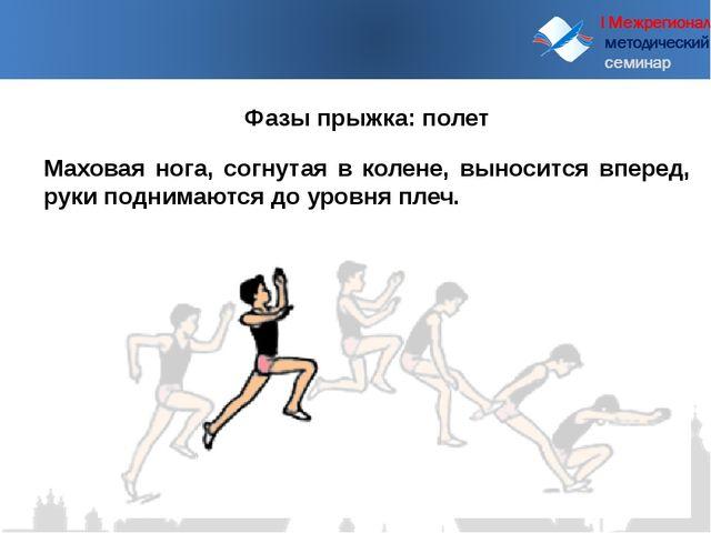 I Межрегиональный методический семинар Маховая нога, согнутая в колене, выно...