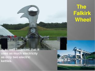 is so well balanced that it uses as much electricity as only two electric ket