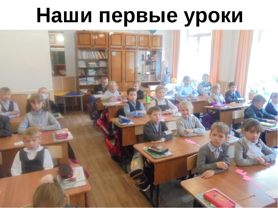 Наши первые уроки
