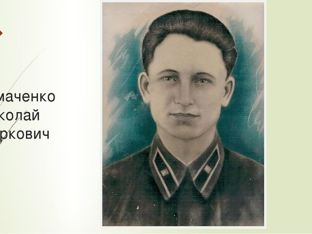 Чумаченко Николай Маркович