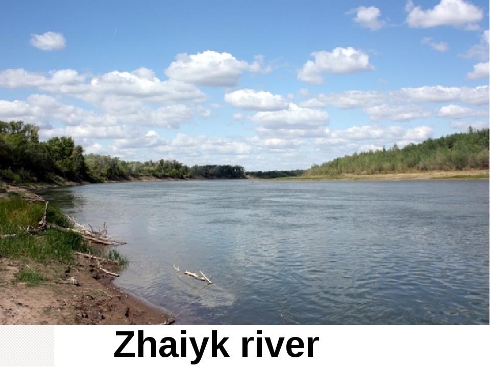 Zhaiyk river