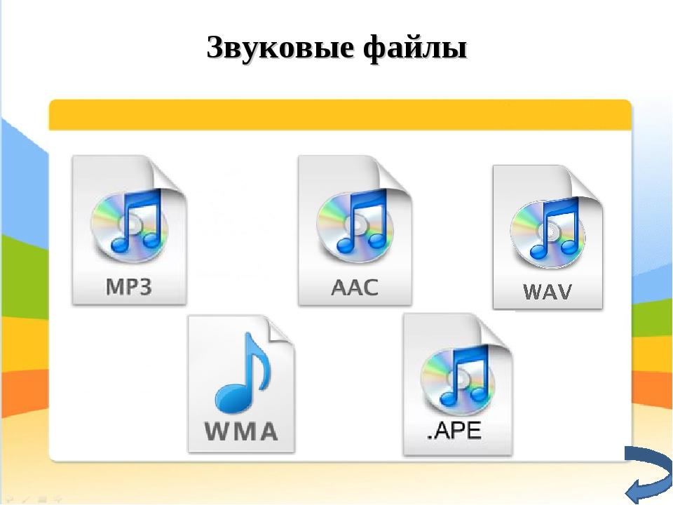 Звуковые файлы