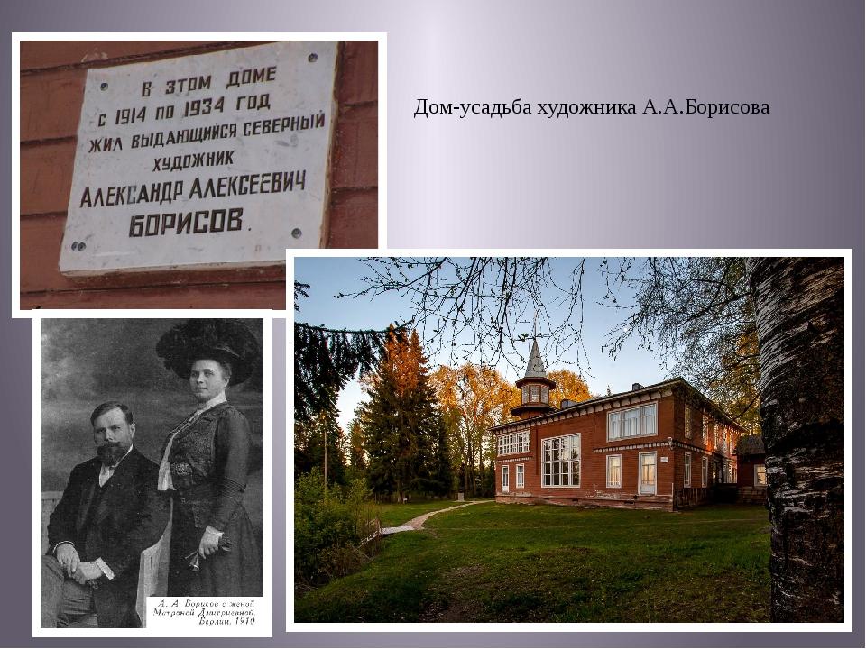 Дом-усадьба художника А.А.Борисова
