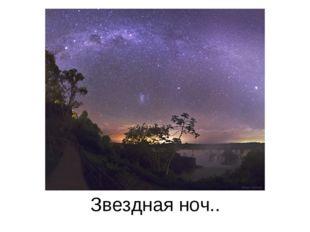 Звездная ноч..
