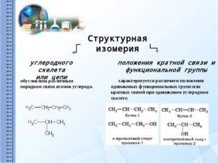Пространственная изомерия Геометрическая Оптическая пара стереоизомеров, пред