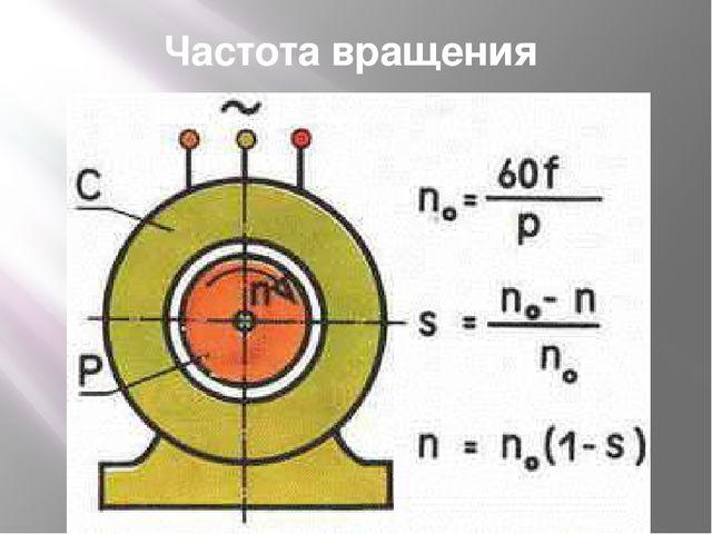 Частота вращения