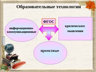 Образовательные технологии критического мышления информационно- коммуникацио