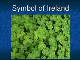 Symbol of Ireland