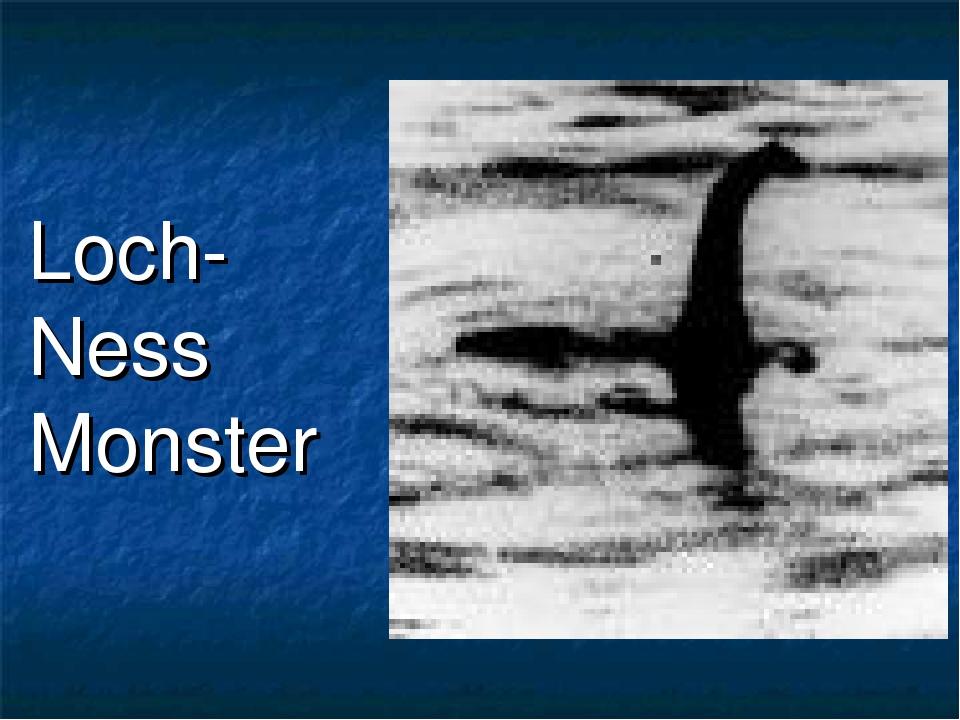 Loch-Ness Monster