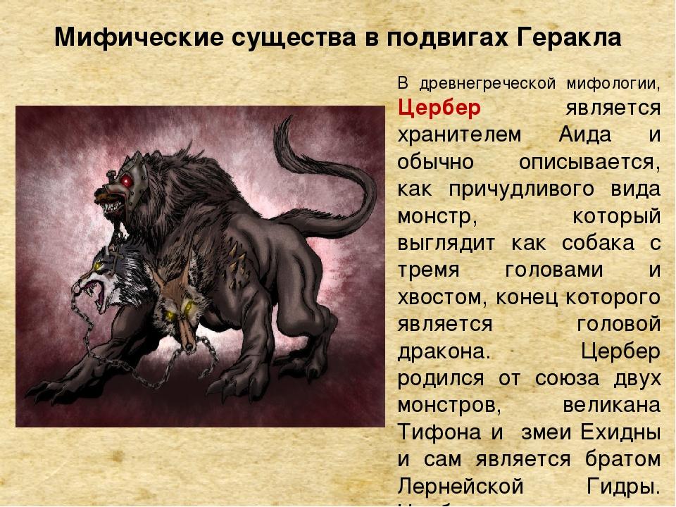 В древнегреческой мифологии, Цербер является хранителем Аида и обычно описыв...