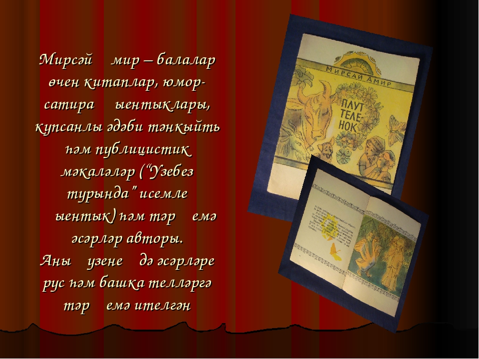 Мирсәй Әмир – балалар өчен китаплар, юмор-сатира җыентыклары, күпсанлы әдәби...