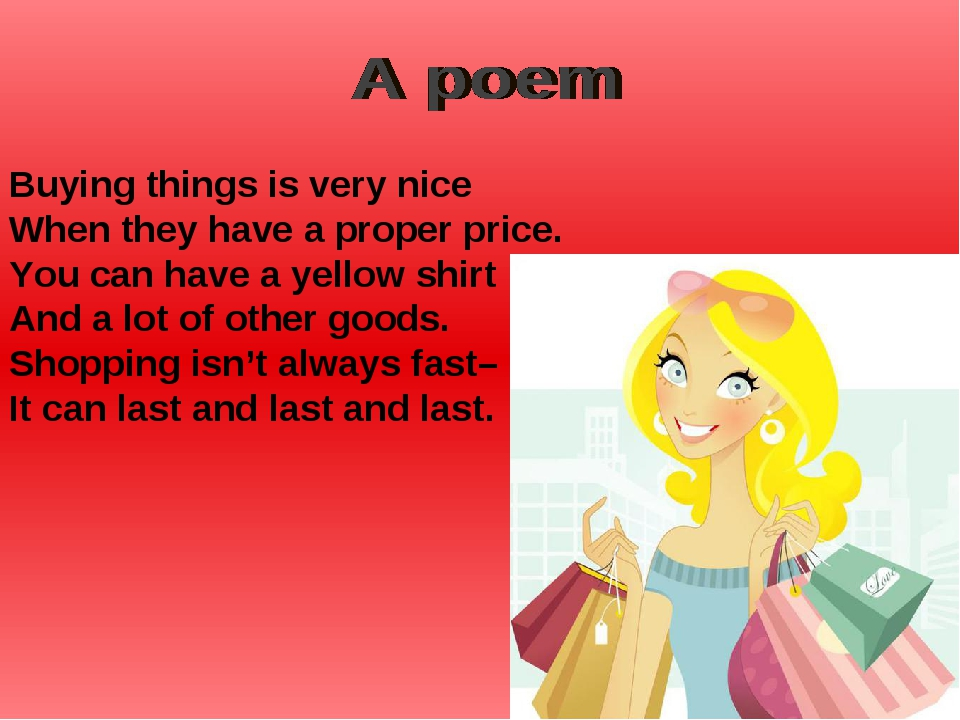 Buying things is very nice When they have a proper price. You can have a yell...