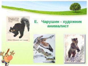 Е. Чарушин - художник анималист